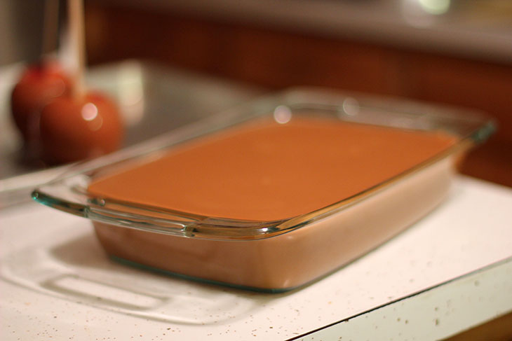 Gluten free home made caramel