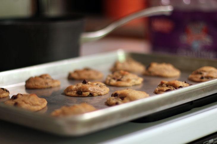 More freshly baked Pillsbury Gluten Free Cookie dough
