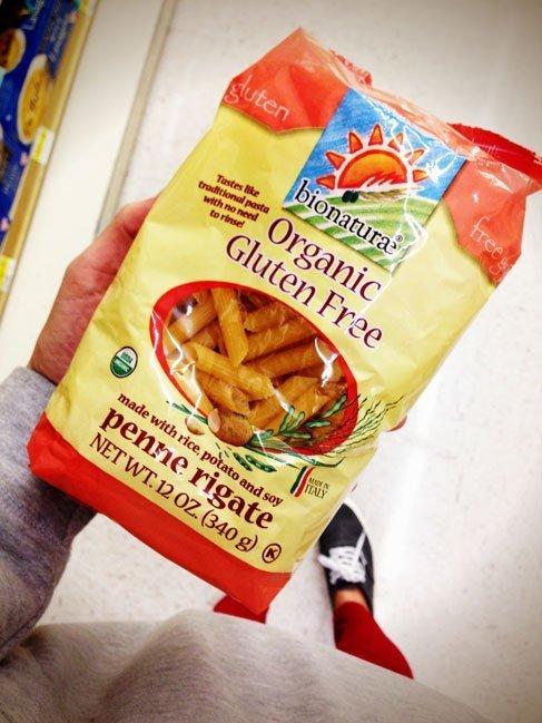 Bionatureae Organic gluten free noodles for making Gluten Free Old-Fashioned Macaroni & Cheese