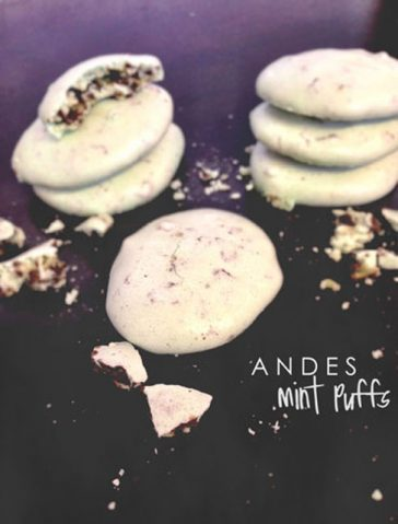 Gluten Free Mint Puffs