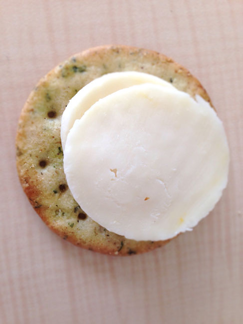 Breton gluten free crackers with cheese