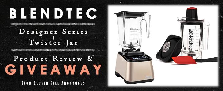 Blendtec Designer Series Review and Giveaway