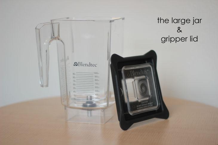 Blendtec Designer Series large jar & gripper lid