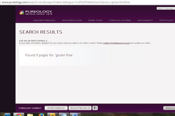 Pureology Search Results for Gluten Free Shampoo & Conditioner