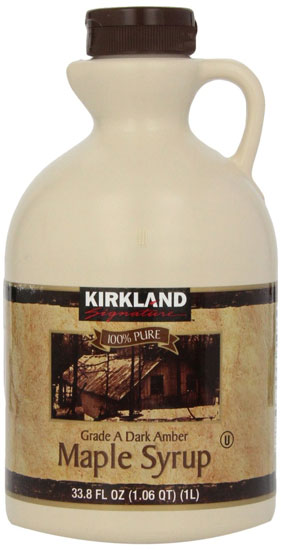 Kirkland 100% pure maple syrup grade A