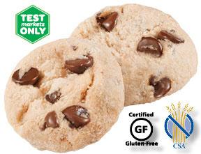 Gluten Free Chocolate Chip Shortbread Cookies