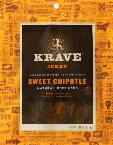 Gluten Free Road Trip Snacks - Krave Gourmet Jerky