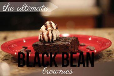Guilt-Free Black Bean Brownies