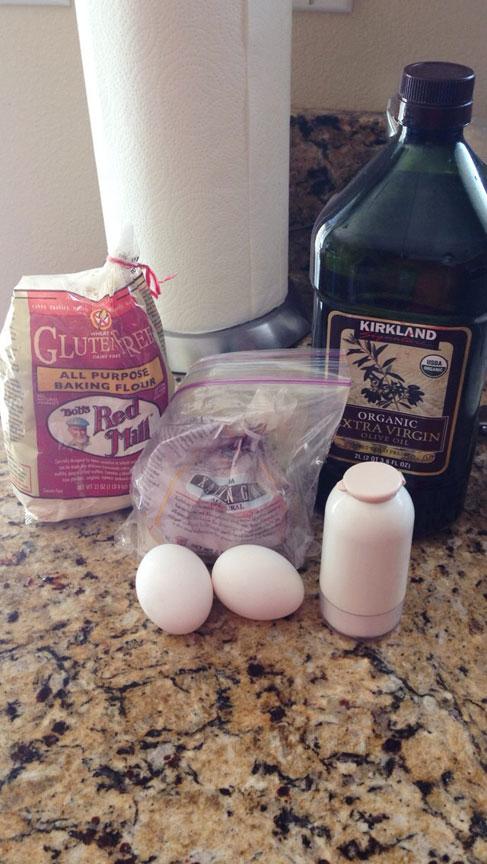 homemade gluten free noodles ingredients
