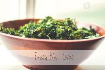 Fresh Kale Chips