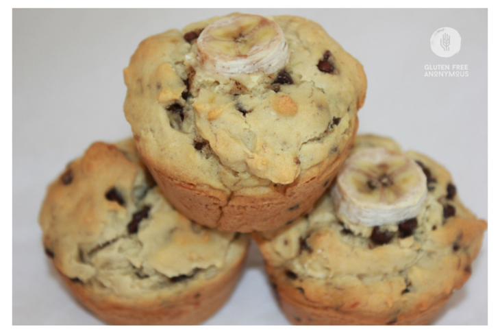 Sweet Debbie's Mushy Monkey Banana Bread Muffins #glutenfree #allergyfreee #dairyfree #vegan #organic