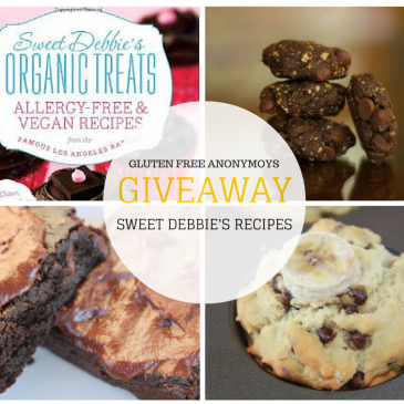 Sweet Debbie's Organic Allergy-Free & Vegan Recipe Book Giveaway!