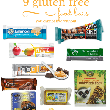 9 Gluten Free Food Bars You Cannot Live Without