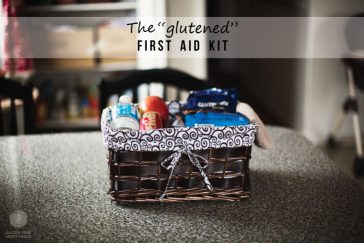 "The ""Glutened"" First Aid Kit"