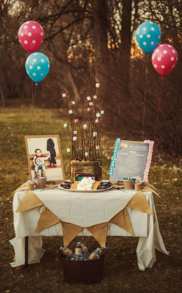DIY Gluten Free Gender Reveal Party