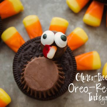 Gluten Free Oreo-Reese's Turkeys